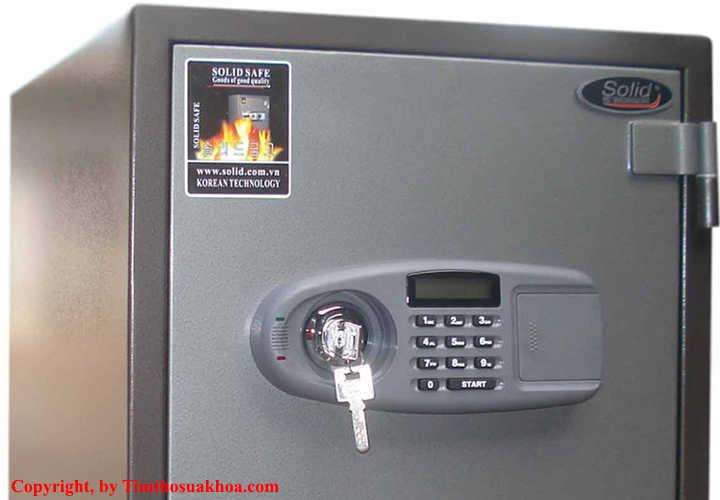 Cách đổi mã két sắt khách sạn