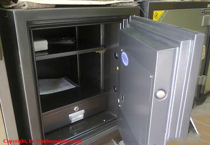 Cấu tạo két sắt – phần khung vỏ bên ngoài
