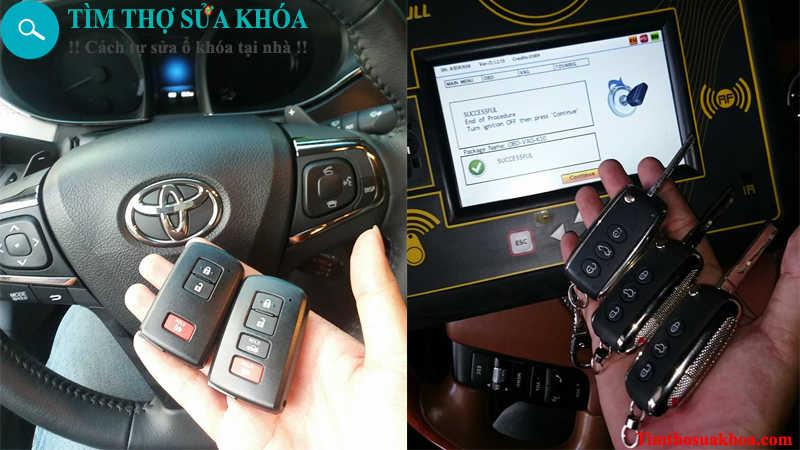 đánh chìa khóa xe ô tô tại Phan Rang
