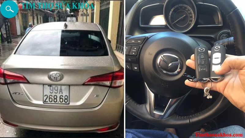 đánh chìa khóa xe ô tô tại Bắc Ninh