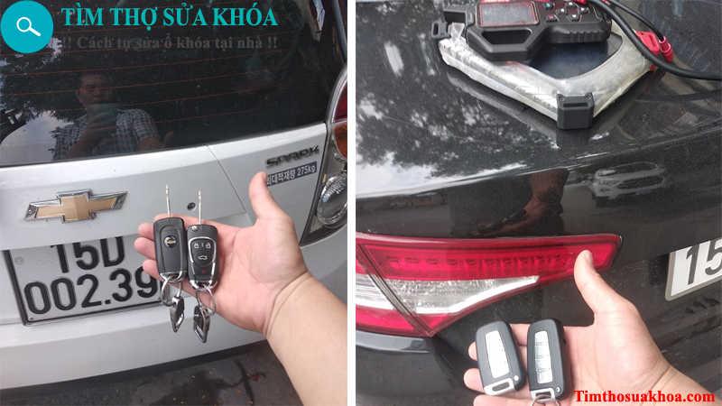 đánh chìa khóa xe ô tô tại Hải Phòng