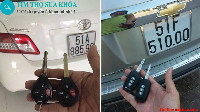 đánh chìa khóa xe ô tô tại TPHCM