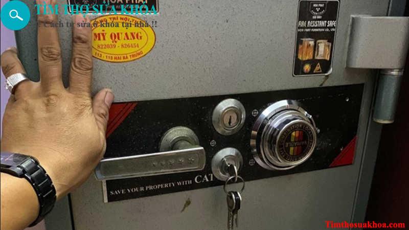thợ sửa khóa két sắt tại Đồng Hới