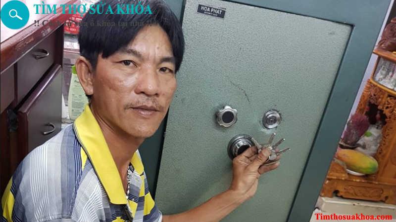 Thợ sửa khóa két sắt tại hà nội