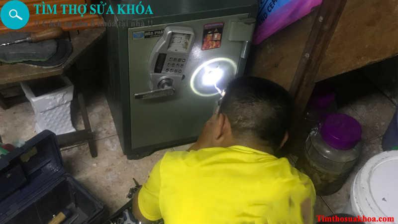 Thợ sửa khóa két sắt tại Nha trang