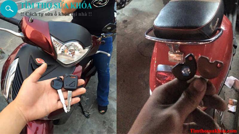 Thợ sửa khóa xe máy tại Bắc Ninh