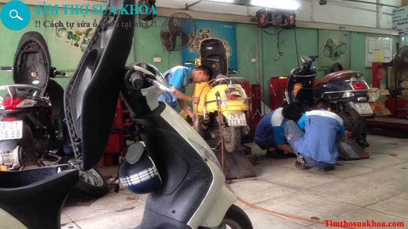 Thợ sửa khóa xe máy tại Bình Dương