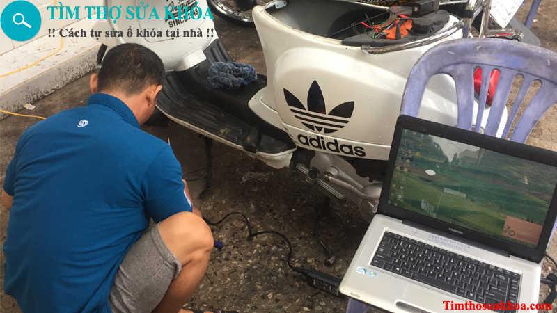 Thợ sửa khóa xe máy tại Hải Phòng