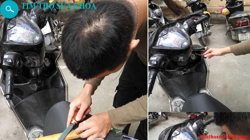 Thợ sửa khóa xe máy tại Hà Nội
