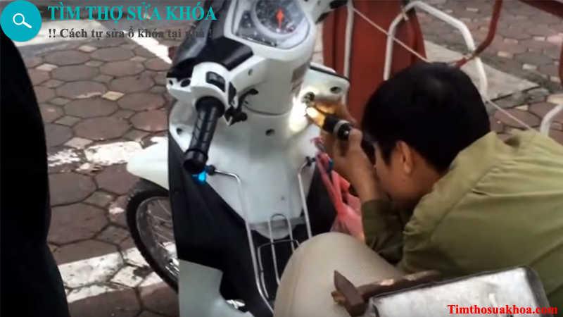 Thợ sửa khóa xe máy tại Vũng Tàu