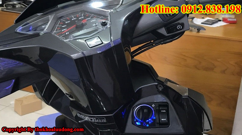 Thay mới, độ ổ khóa Smartkey cho xe máy Honda Airblade (AB)