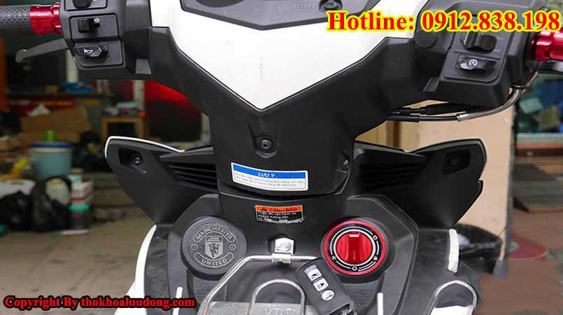 Thay mới, độ ổ khóa Smartkey cho xe máy Yamaha Exciter 150