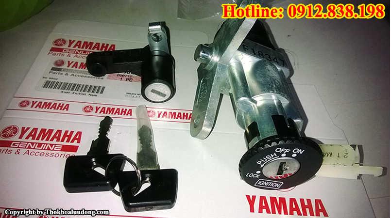 Thay ổ khóa xe máy Yamaha giá rẻ