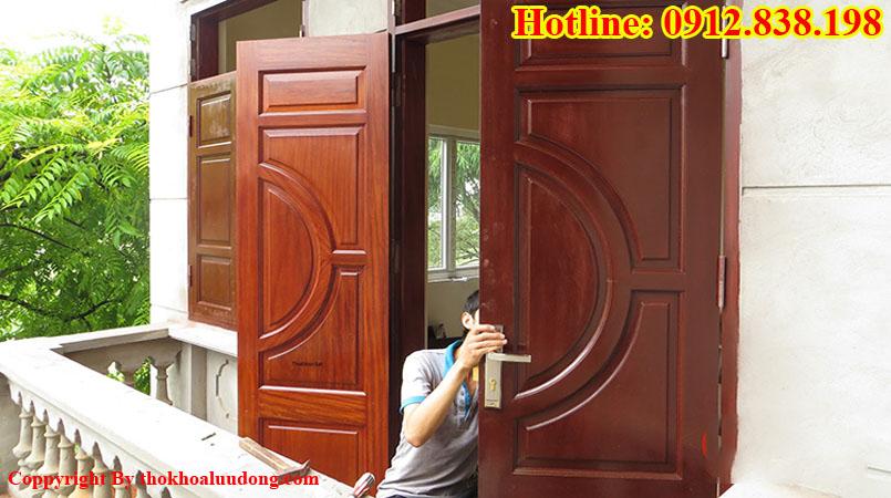 Dịch vụ sửa khóa cửa gỗ tại nhà