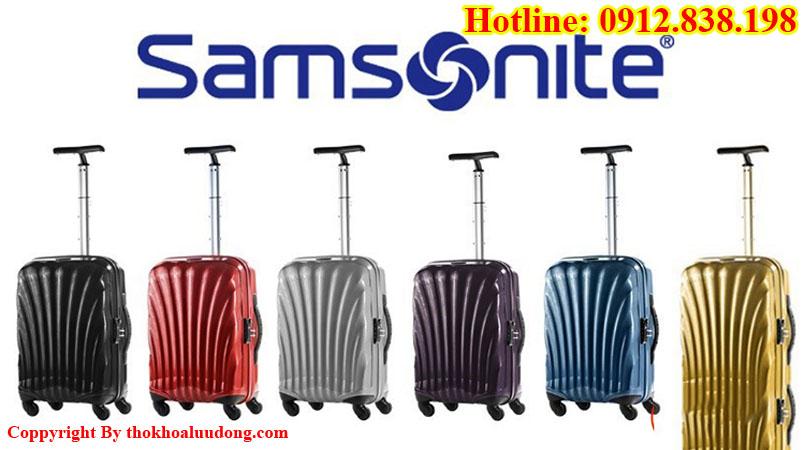 Sửa khóa vali kéo Samsonite tại nhà