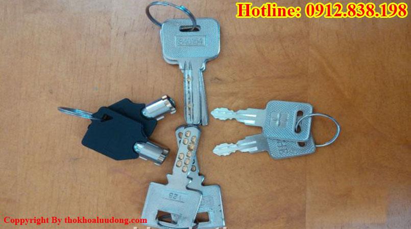 Các loại khóa két sắt