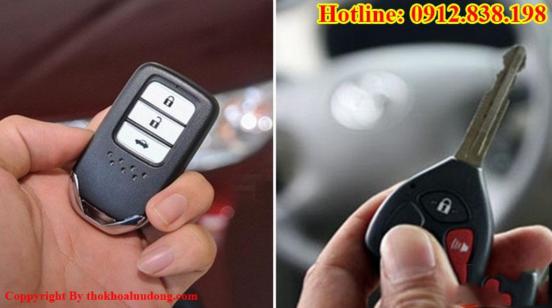 Nhận thay vỏ chìa khóa, remote, smartkey xe ô tô các loại