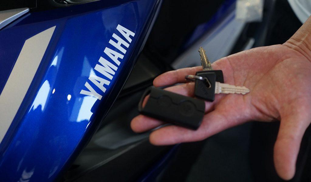 đánh chìa khóa xe yamaha