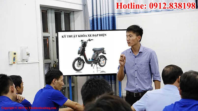Đào tạo Kỹ thuật sửa khóa xe đạp điện