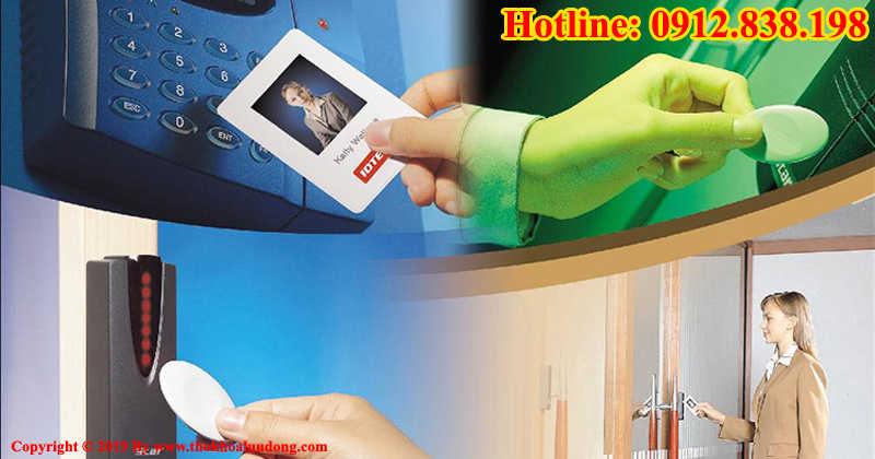 Làm thẻ quẹt, thẻ từ khóa điện tử tại nhà Hà Nội và TPHCM