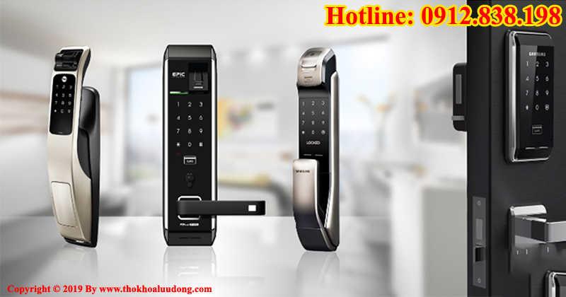 Mở khóa điện tử, mở khóa thẻ từ, mở khóa vân tay tại nhà Hà Nội và TPHCM