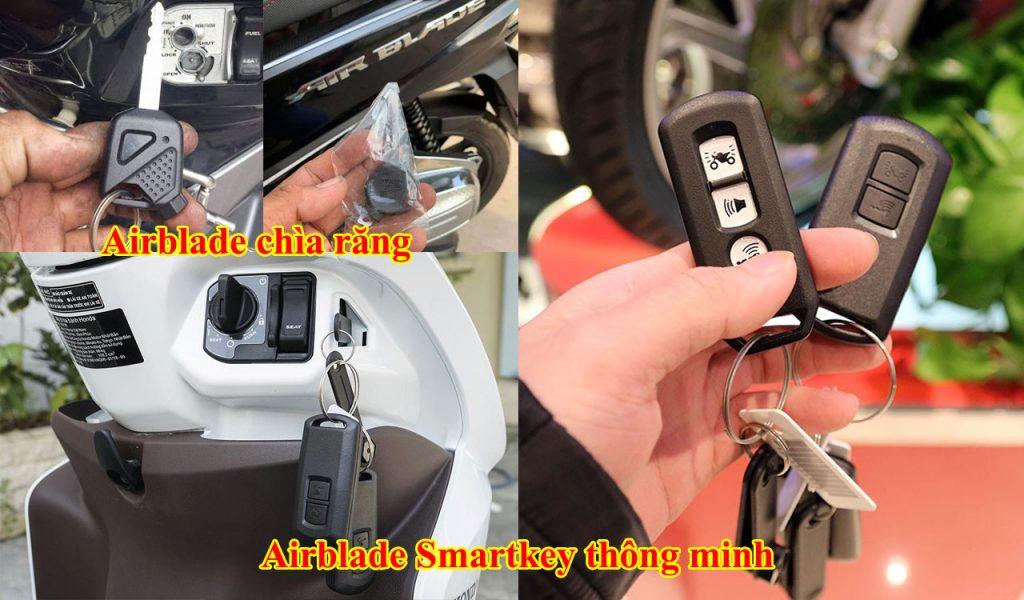 danh chia khoa xe airblade